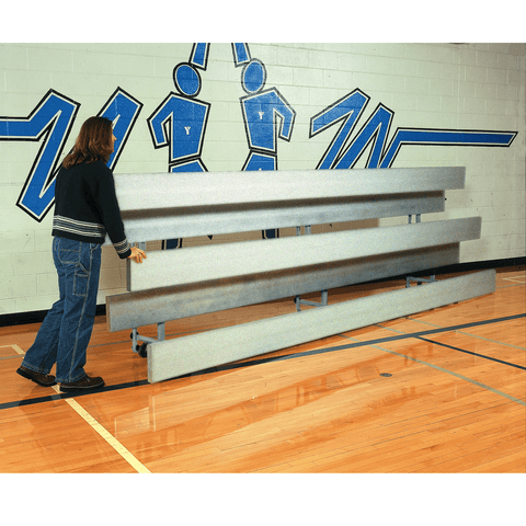 Bison All Aluminum Easy Store Indoor Bleachers - Pitch Pro Direct