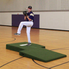 Collegiate 2-Piece Indoor Mound - Pitch Pro Direct