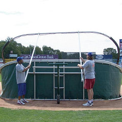 JayPro Little Slam Portable Hitting Turtle Backstop For Baseball