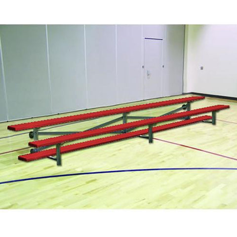 JayPro 21' Tip & Roll Standard Bleacher Powder Coated
