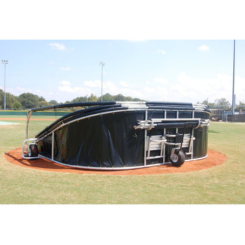 ProCage Professional Roll Away Portable Hitting Turtle for Baseball - Pitch Pro Direct