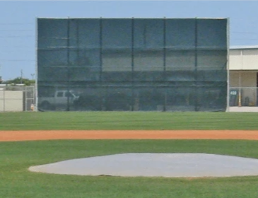 Batter's Eye Windscreen by FenceMate
