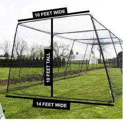 Free Standing Batting Cage for Residential or Commercial Use