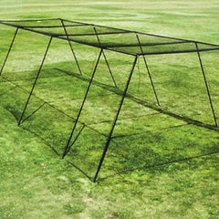 Image of Free Standing Batting Cage Package for Backyard and Residential Use