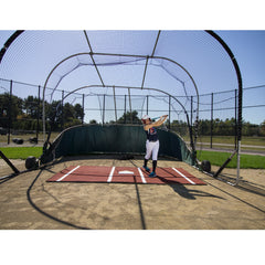 ProMounds 12' x 7' Softball Batting Mat Pro Green Or Clay