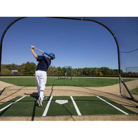 ProMounds 12' x 6' Lined Portable Batting Mat Pro - Pitch Pro Direct