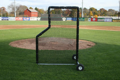 ProMounds Batting Practice 5' x 7' L-Screen With Wheels - Pitch Pro Direct