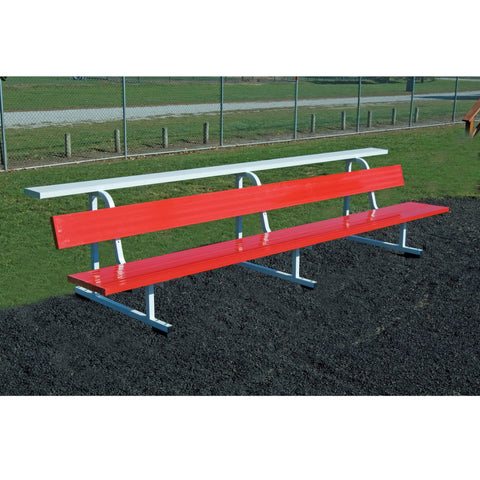 Bison Big B Portable Football Team Benches - Pitch Pro Direct