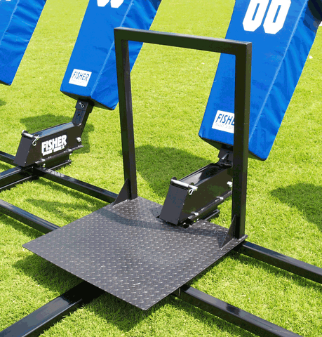 Fisher 3 Man Big Boomer Football Blocking Sled - Pitch Pro Direct