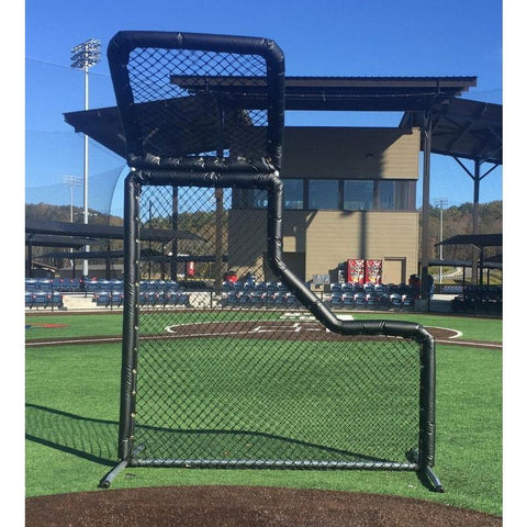 Bullet L-Screen Baseball with Overhead Protector