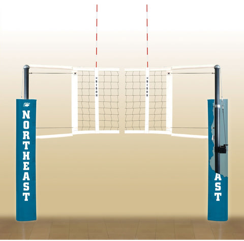 Bison CarbonLite Composite Volleyball System - Pitch Pro Direct