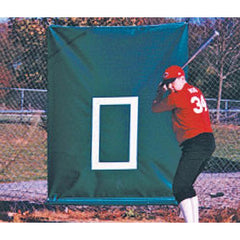 Vinyl-Coated 22 Oz. CageSaver Batting Cage Backdrop Protector - Pitch Pro Direct