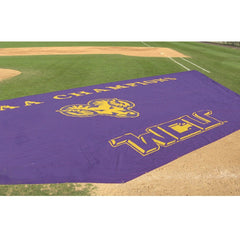 CoverSports FieldSaver® Heavy-duty Classic Mesh Style  Infield Covers - Pitch Pro Direct