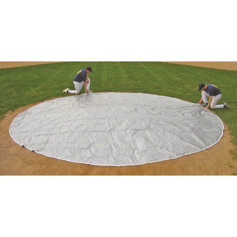 Cover Sports FieldSaver® Weighted Polyethylene Rain Spot Covers - Pitch Pro Direct