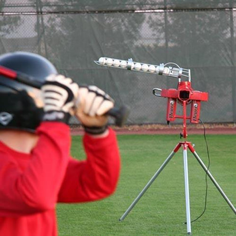 Heater Sports Deuce 95 MPH 2 Wheel Curveball Pitching Machine - Pitch Pro Direct