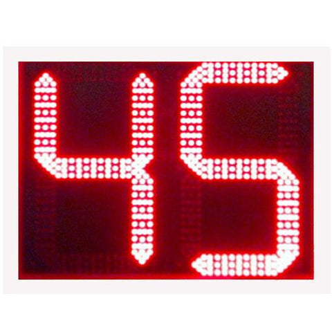 "Sports Radar DL1811, 18"" two Digit Red LED Display"