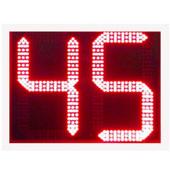 "Sports Radar DL1211, 12"" Two Digit Red LED Display"