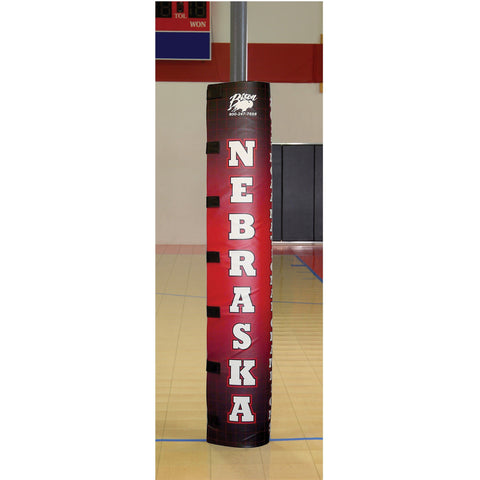 Bison Full-Color Graphic Volleyball Post Padding - Pitch Pro Direct