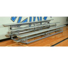 Bison Galvanized Steel Easy Store Indoor Bleachers - Pitch Pro Direct