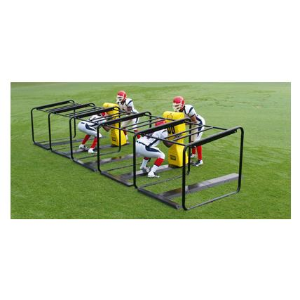 Fisher 1-7 Man Football Lineman Chute - Pitch Pro Direct