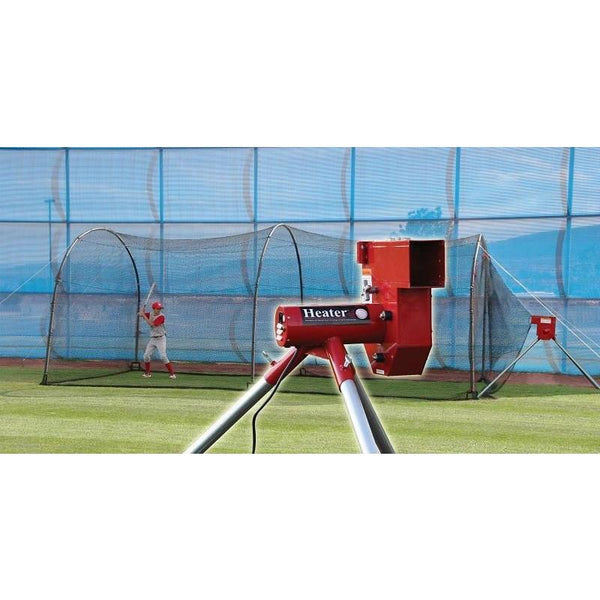 Heater Baseball Pitching Machine And Xtender 24 Home
