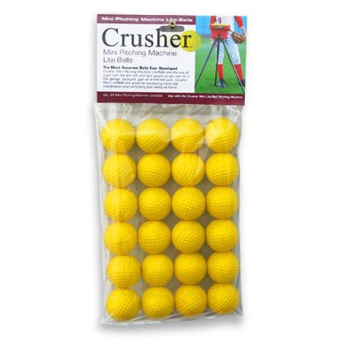 Heater Crusher Slow Mini-Lite Balls