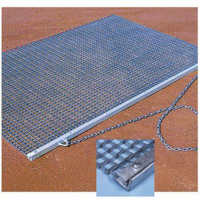 Heavy Duty Drag Mat Top View Field Groomers