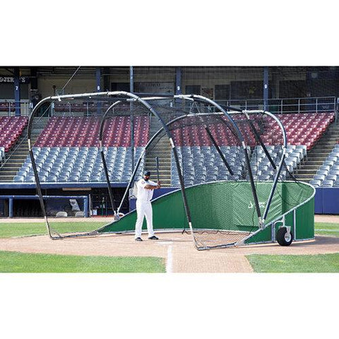 JayPro Big League Professional Hitting Turtle Backstop For Baseball