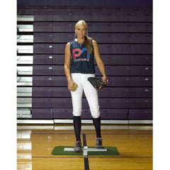 ProMounds Jennie Finch Softball Pitching Mini-Mat w/ Powerline - Pitch Pro Direct