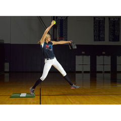 ProMounds Jennie Finch Softball Pitching Mini-Mat w/ Powerline