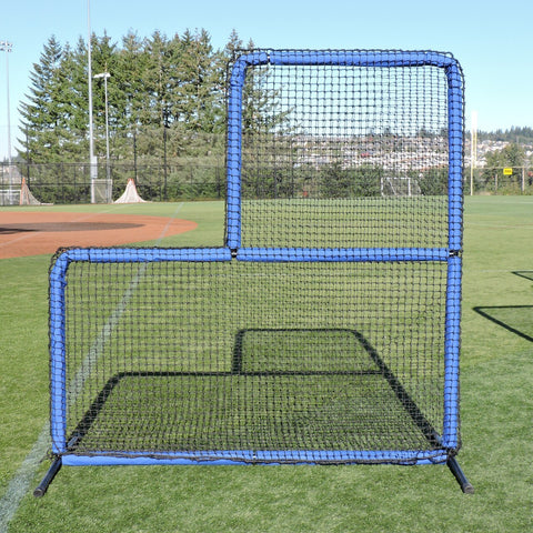 Jugs Protector™ Blue Series L-Shaped Pitchers Screen