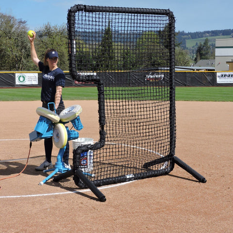 Jugs Protector™ Series: C-Shaped Softball Screen