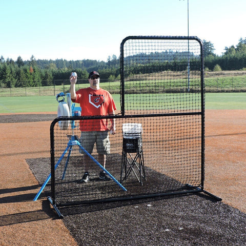 Jugs Standard L-Shaped Pitchers Screen