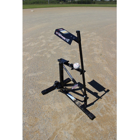 Louisville Slugger Black Flame Multi-Sport Pitching Machine
