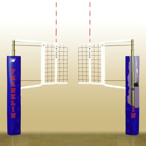Bison Magic Self-Storing Volleyball System - Pitch Pro Direct