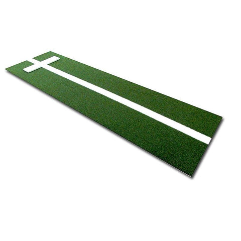 Cimarron 3'x11' Softball Pitcher's Mat with Power Stripe Green