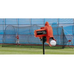 PowerAlley Pro Real Ball Machine & PowerAlley 22' Cage