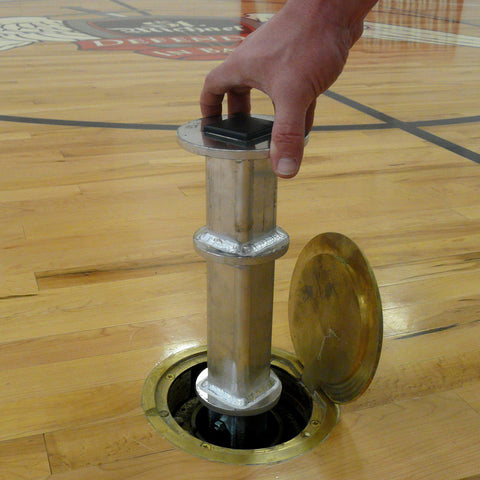 Bison Pickleball/Badminton Post Adapters - Pitch Pro Direct