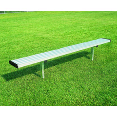 Bison Player Bench without Backrest - Pitch Pro Direct