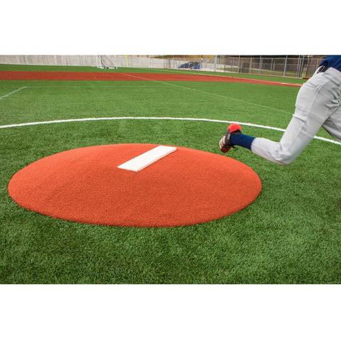 "PortoLite 6"" Oversized Stride Off Game Pitching Mound For Baseball"