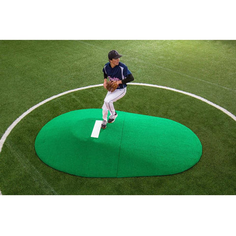 "PortoLite Two Piece 10"" Portable Game Pitching Mound"