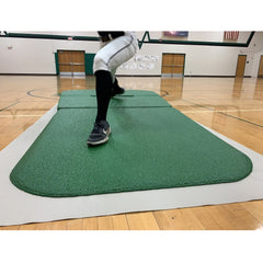 Portolite Indoor Full Wind-Up 2 Piece Portable Practice Pitching Mound