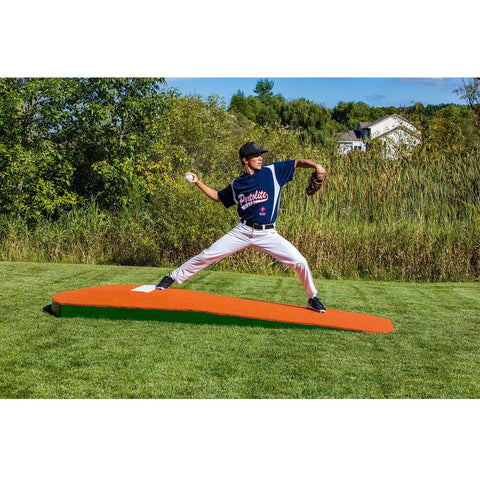"Portolite 10"" One-Piece Portable Practice Pitching Mound"