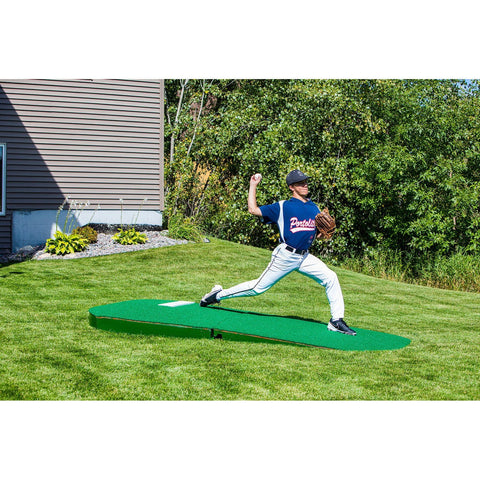 "Portolite 10"" Two-Piece Portable Practice Pitching Mound"