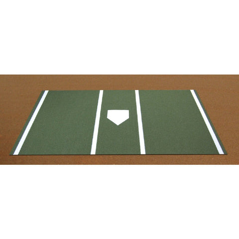 ProTurf Baseball Home Plate Mat Green or Clay - Pitch Pro Direct