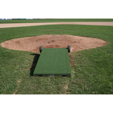 ProMounds Portable Collegiate Pitching Platform With Wheels