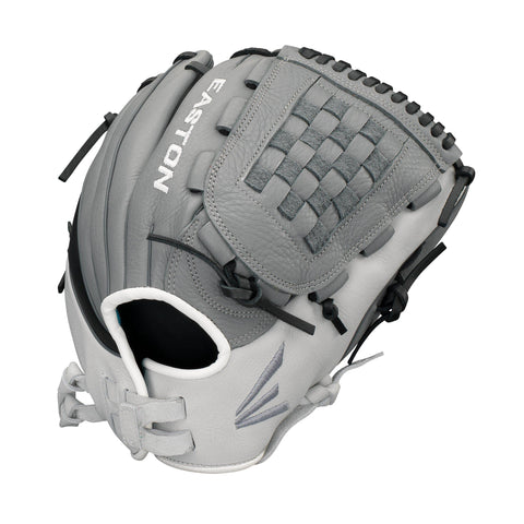 "Easton Infield/Pitcher 12.5"" Slate Fastpitch Softball Glove"