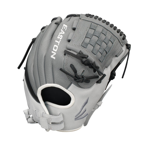 "Easton Infield/Pitcher 12"" Slate Fastpitch Softball Glove"