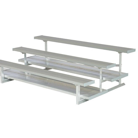 2 or 3 Rows Aluminum Preferred Bleachers - Pitch Pro Direct