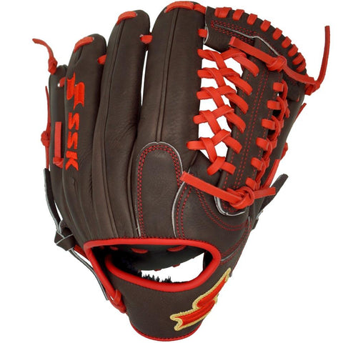 SSK Red Line Modified Trap Pitcher/Infield Baseball Glove
